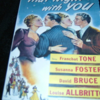 THAT NIGHT WITH YOU 1945 DVD