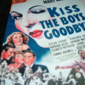 KISS THE BOYS GOODBYE 1941 DVD