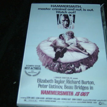 HAMMERSMITH IS OUT 1972 DVD