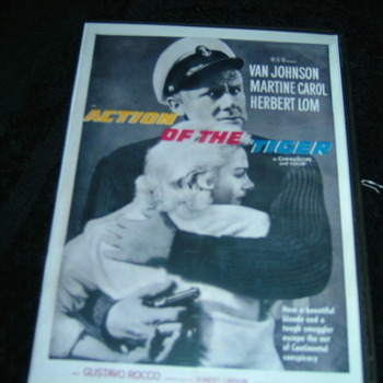 action of the tiger 1957 dvd