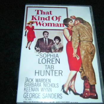 THAT KIND OF WOMAN 1959 DVD