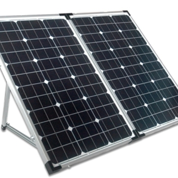 Waterproof 100W Folding Solar Panel Kit