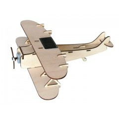 Solar Powered Biplane Kit (SG4005)