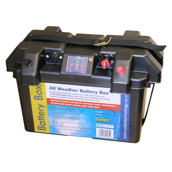 Deluxe All Weather Battery Box