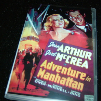 ADVENTURE IN MANHATTAN 1936 DVD