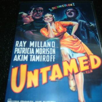 UNTAMED 1940 RAY MILLAND DVD