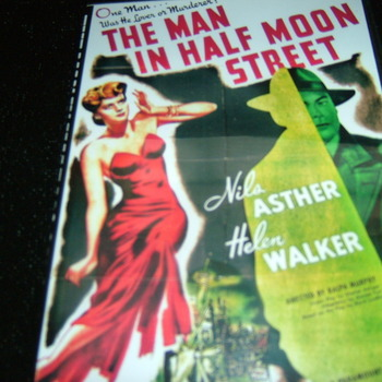 THE MAN IN HALF MOON STREET 1945 DVD