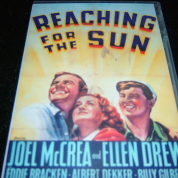 REACHING FOR THE SUN 1941 DVD
