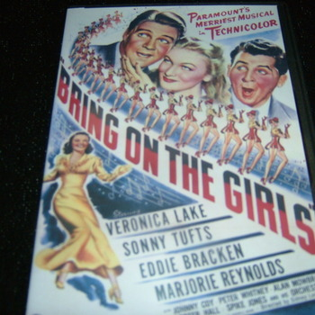 BRING ON THE GIRLS 1945 DVD