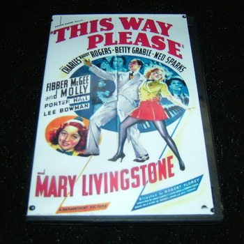 THIS WAY PLEASE 1937 DVD