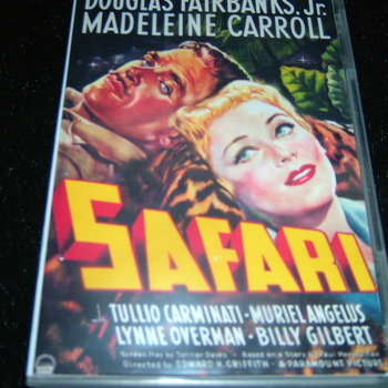 SAFARI 1940 DVD