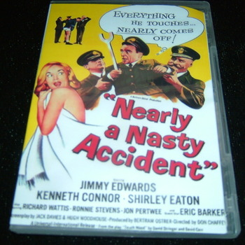 NEARLY A NASTY ACCIDENT 1962 DVD