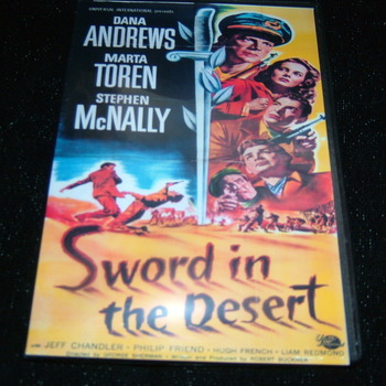 SWORD IN THE DESERT 1949 DVD