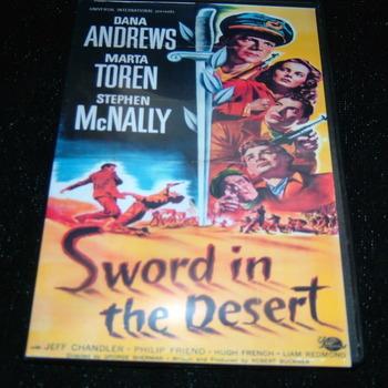 SWORD IN THE DESERT 1949 DVD