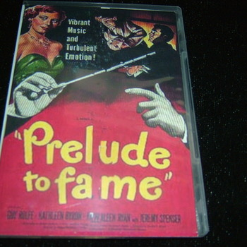 PRELUDE TO FAME 1950 DVD