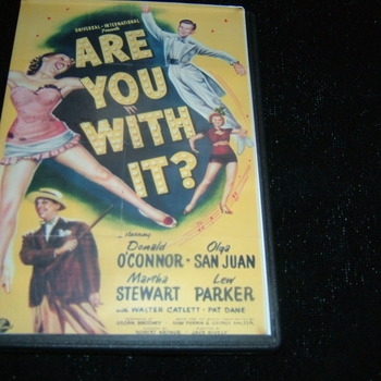 ARE YOU WITH IT 1948 DVD