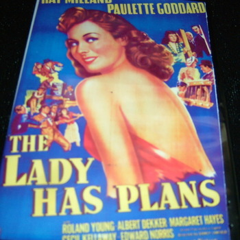 THE LADY HAS PLANS 1942 DVD