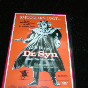 DR SYN ALAIS THE SCARECROW 1963 DVD