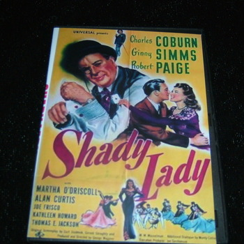 SHADY LADY 1945 DVD