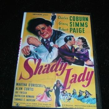 SHADY LADY 1945 DVD