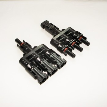Three Way MC4 Connectors