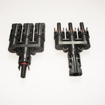 Three Way MC4 Connectors
