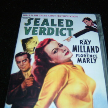 SEALED VERDICT 1948 DVD