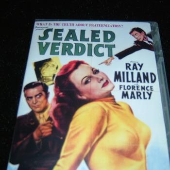 SEALED VERDICT 1948 DVD