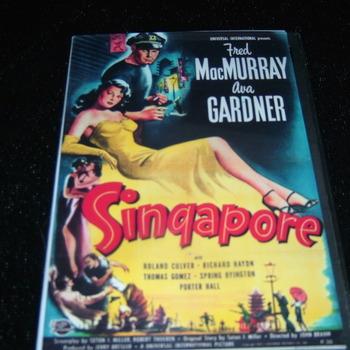 SINGAPORE 1947 DVD