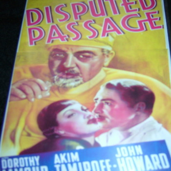 DISPUTED PASSAGE 1939 DVD