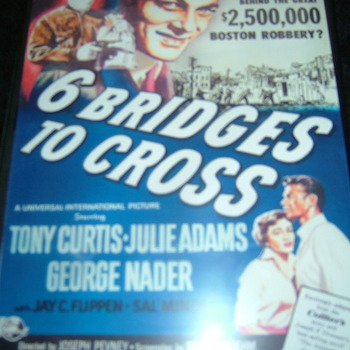 6 BRIDGES TO CROSS 1955 DVD