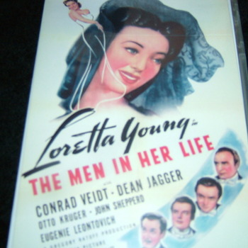 THE MEN IN HER LIFE 1941 DVD
