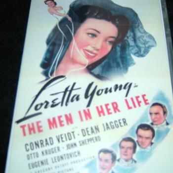 THE MEN IN HER LIFE 1941 DVD