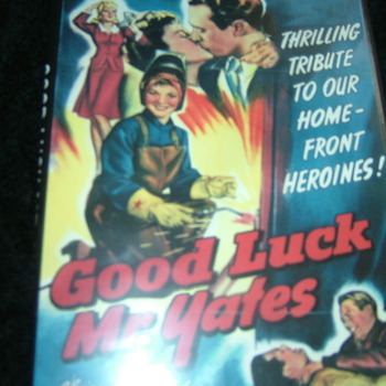 GOOD LUCK MR YATES 1943 DVD