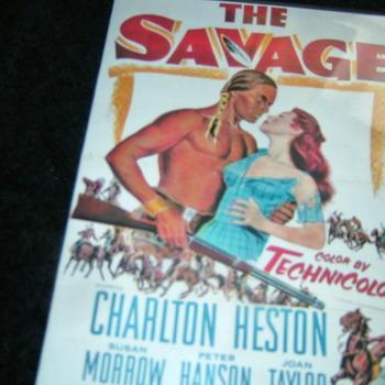 THE SAVAGE 1952 DVD