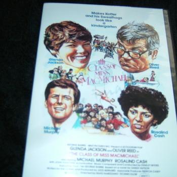 THE CLASS OF MISS MACMICHAEL 1979 DVD