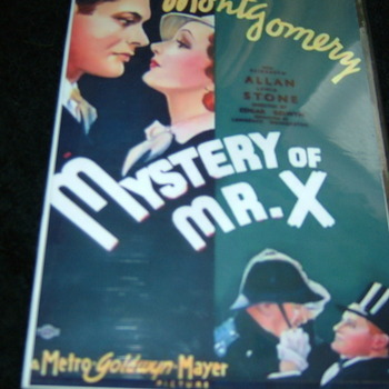 MYSTERY OF MR X 1934 DVD