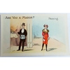 Are You a Mason? Passing. Millar & Lang Postcard 2686