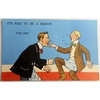 It's Fine to be a Mason. The Grip. Millar & Lang Postcard 2985