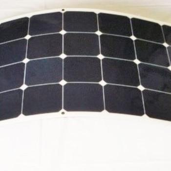 150W Semi Flexible with Sunpower Solar Cells