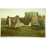 Oystermouth Castle Early Postcard