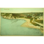 Caswell Bay Gower Early Postcard