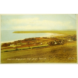 Oxwich Bay 1966 Postcard