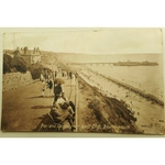 West Cliff Bournemouth 1915 Postcard