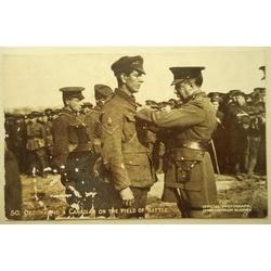 Canadian DCM WWI Postcard