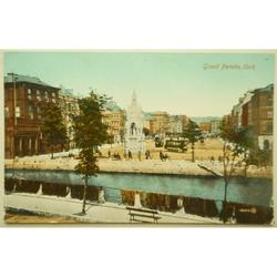 Grand Parade Cork WWI (?) Postcard