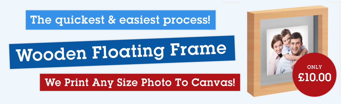 wooden photo frame and printing