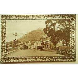 Simon's Town, St George's Street Old Photo Postcard
