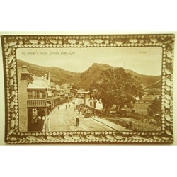 Simons Town, St Georges Street Old Photo Postcard (2)