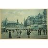 Ostende La Plage Old Postcard